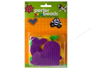 Kid Crafts Flowers: Perler Pegboard Set Small Fun Shapes 5 pc.