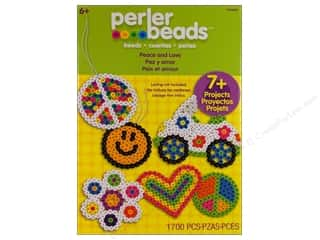 Projects & Kits Love & Romance: Perler Fused Bead Kit Peace And Love