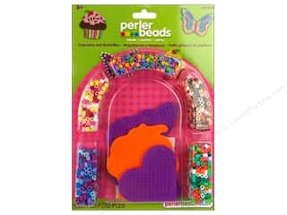 Kids Crafts Perler Bead Kits: Perler Fused Bead Kit Cupcake & Butterfly
