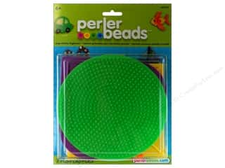 Perler Fused Bead Pegboards Set Shapes Large 6pc