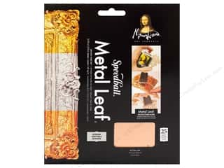 Mona Lisa Metal Leaf Sheets 25pc Genuine Copper