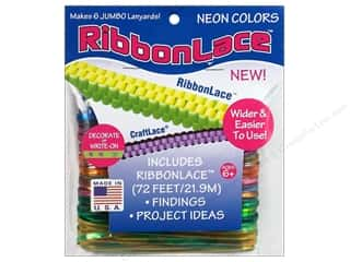 Kids Crafts Lanyard Braiding: Toner RibbonLace Value Pack Tie Dye 72ft