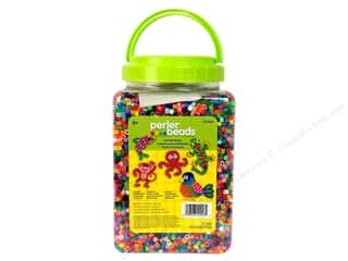 Plastics Beading & Jewelry Making Supplies: Perler Beads 22000 pc. Multi-Mix