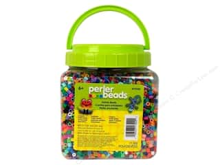 Plastics Beading & Jewelry Making Supplies: Perler Beads 11000 pc. Multi-Mix