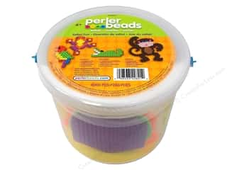 Funfusion Beads: Perler Activity Bucket Safari Fun