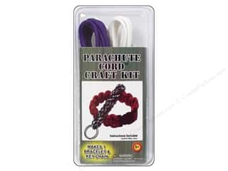 Macrame Sewing & Quilting: Pepperell Parachute Cord Accessories Bracelet Kit