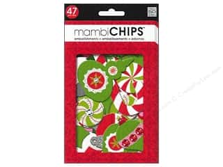 MAMBI Chipboard Embellishment Christmas Icons