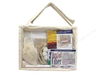 Bamboo batting: C&T Publishing Artful Fiber Mixed Fibers & Surfaces Pack