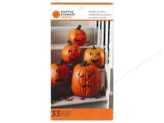 Martha Stewart Food Decorating Transfers Halloween Classic Pumpkin