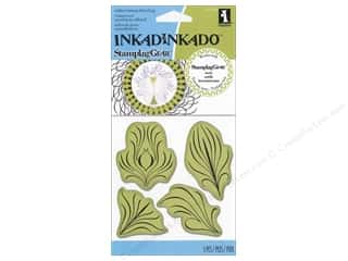 Rubber Stamping Clearance Crafts: Inkadinkado InkadinkaClings Rubber Stamping Gear Feathers