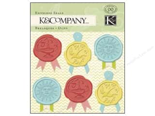 K&amp;Co Embel Beyond Postmarks Wax Envelope Seals