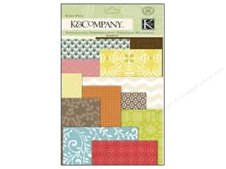 K&Co Embel Beyond Postmarks Letterpress Scrap Pack
