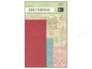 K&Company Embellishments Beyond Postmarks Floral Scrap Packs