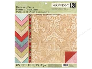K&amp;Co Paper Pad Beyond Postmarks Designer Floral