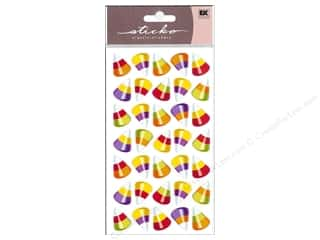 EK Sticko Sticker Multicolor Candy Corn