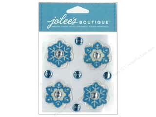 Jolee's Boutique Stickers Lace Snowflakes
