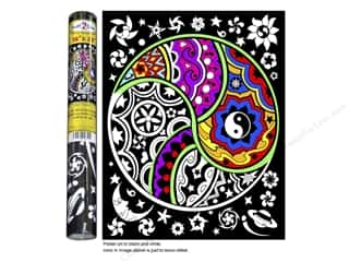 Stuff2Color Poster Velvet 16&quot;x20&quot; Ying Yang