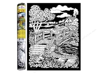 "Stuff2Color Poster Velvet 16""x20"" Wooden Bridge"