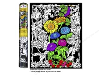 "Stuff2Color Poster Velvet 16""x20"" Sunflower Garden"