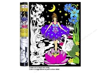 Stuff2Color Poster Velvet 16&quot;x20&quot; Night Princess