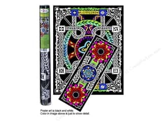 Stuff2Color Poster Velvet Multi Pack Geo Vine 2pc