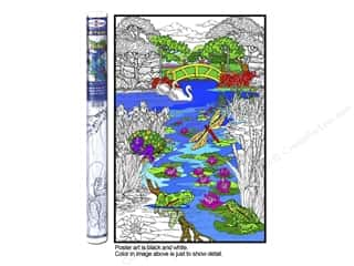 "Stuff2Color Poster Wall 22""x32.5"" Pond In The Park"