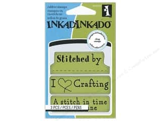 Inkadinkado Cling Stamp Mini Crafting Expressions