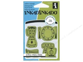 Inkadinkado Cling Stamp Mini: Inkadinkado InkadinkaClings Stamp Mini Kitchen Icons