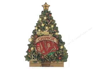 K&Co Chipboard TC Christmas Alphabet