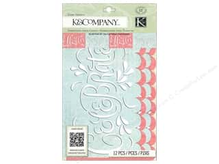 K & Company Vellum & Specialty Papers: K&Company Embellishments Beyond Postmarks Die Cut Vellum Card Inserts