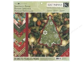 K&amp;Co Paper Pad 12x12 TC Christmas Specialty