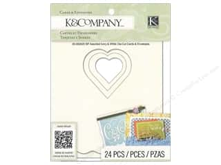 K&Co Card & Envelopes Beyond Postmarks Ivory/White