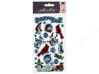 EK Sticko Sticker Sparkler Snowfall