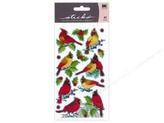 EK Sticko Stickers Cardinals