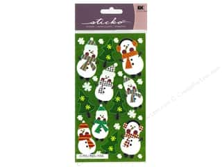 EK Sticko Sticker Silly Snowmen