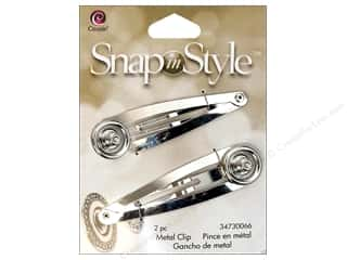 Cousin Snap In Style Base Mtl Hair Clip