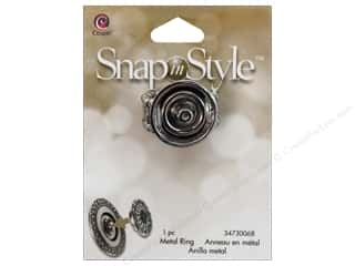 Cousin Snap In Style Base Mtl Stretch Ring