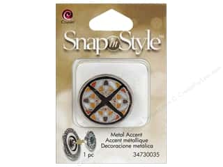 Charms Cousin Snap In Style Accent: Cousin Snap In Style Accent Metal Mosaic