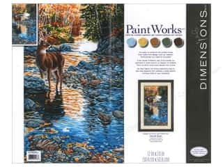Paintworks Paint By Number 12x20 Shallow Crossing