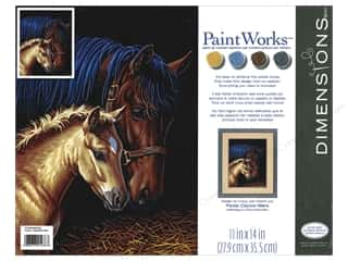 Weekly Specials Painting: Paintworks Paint By Number 11x14 Gentle Touch