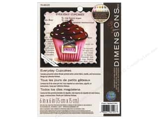 Dimensions Cross Stitch Kit Stamp 6x6 EvdyCupcake