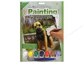Royal Paint By Number Junior Small Garden Puppy
