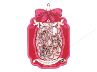 Valentine's Day ABC & 123: K&Company Chipboard Cupid Alphabet