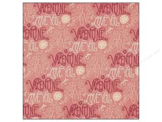 Love & Romance Valentine's Day Gifts: K&Company 12 x 12 in. Paper Cupid Collection Words (25 pieces)