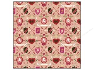 Fox Run Valentine's Day: K&Company Paper 12x12 Cupid Shields (25 pieces)