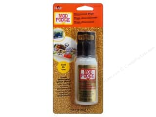Plaid paper dimensions: Plaid Mod Podge Dimensional Magic Glitter Gold 2oz