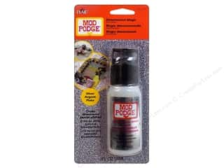 Plaid paper dimensions: Plaid Mod Podge Dimensional Magic Glitter Silver 2oz