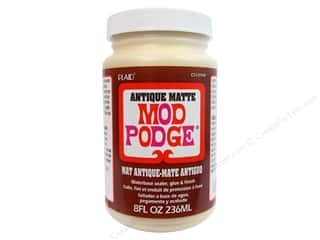 Finishes Glues, Adhesives & Tapes: Plaid Mod Podge Antique Matte 8oz