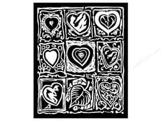 Stuff2Color Folder Velvet 9x12 Nine Hearts