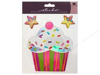 EK Sticko Sticker Big Cupcake